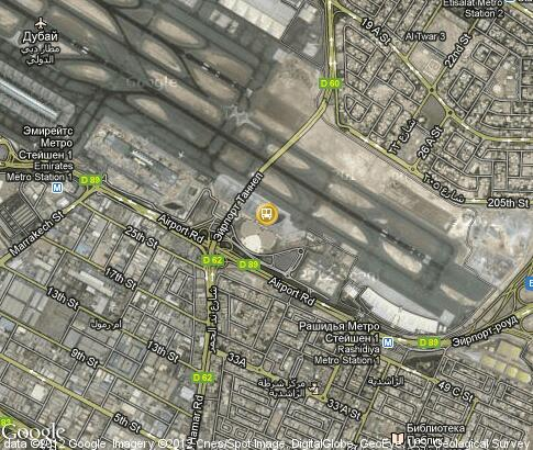 Dubai Airport Lounge Video Popular Tourist Places Satellite Map