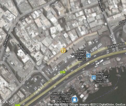 Dubai Spice Souk Video Popular Tourist Places Satellite Map