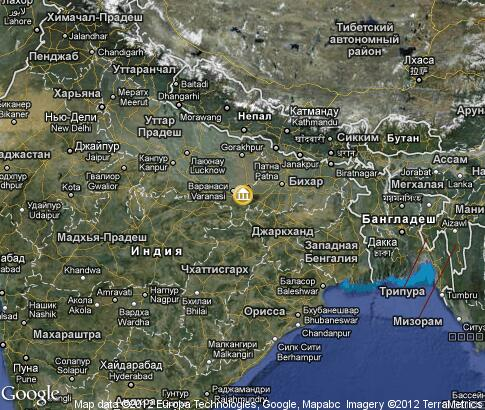 map: Fashion Week in India