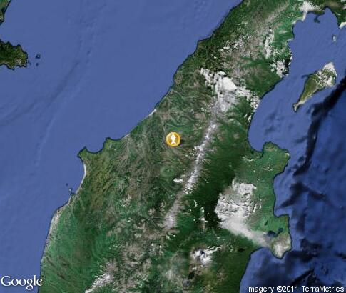 map: Fishing in Kamchatka