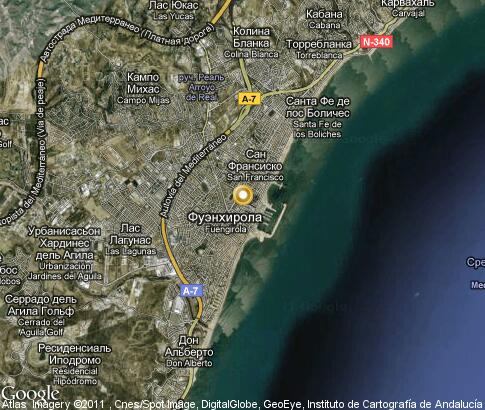 map: Fuengirola