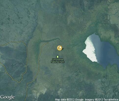 map: Gorongosa National Park