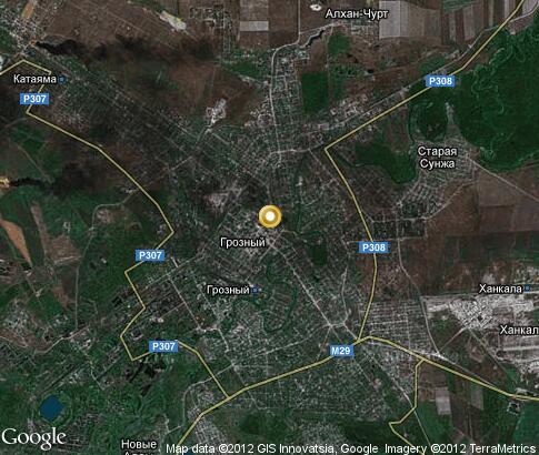 格罗兹尼: 视频, 地标, 卫星地图 - 车臣共和国