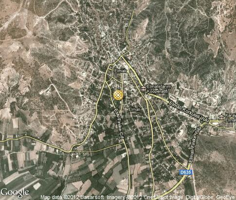 map: Handicrafts in Elmal