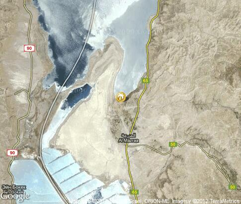 map: Holidays at the Dead Sea