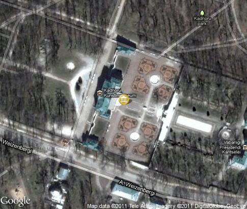 map: Kadriorg Palace