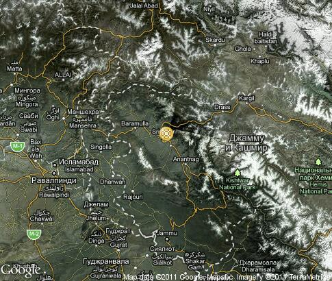 map: Kashmir silk