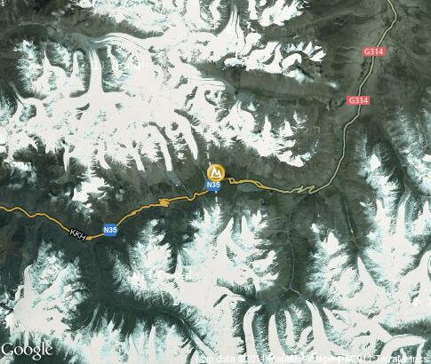 map: Khunjerab Pass