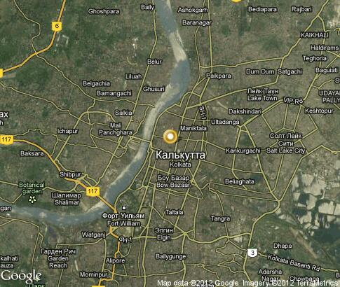 map: Kolkata