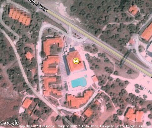 map: Lagomandra Beach Hotel