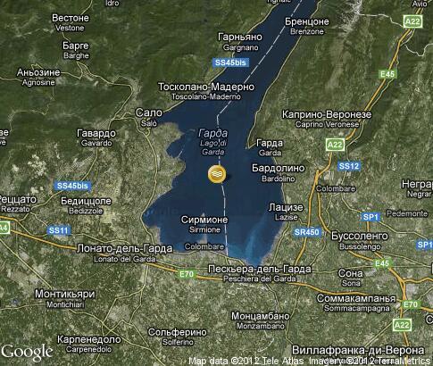 地图: 加尔达湖