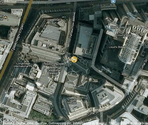 map: Leadenhall Market