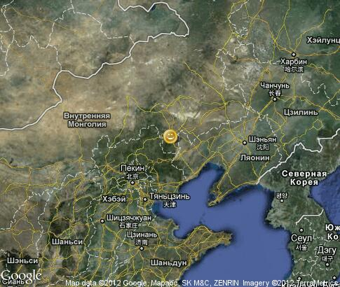 map: Leisure in Inner Mongolia