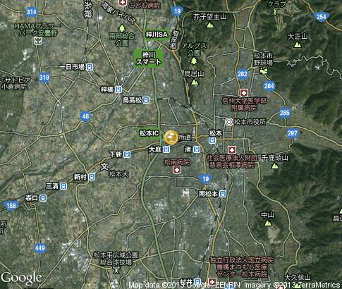map: Matsumoto Springs