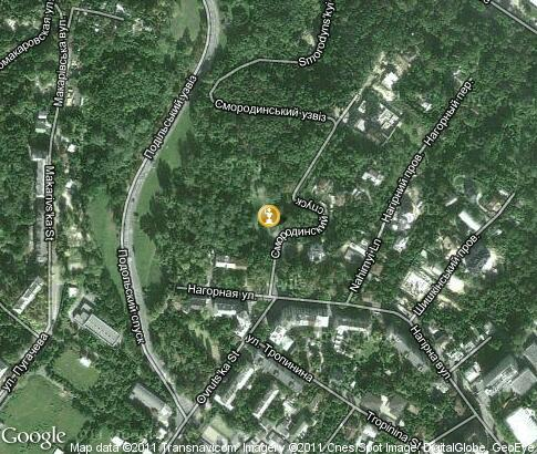 map: Мemorial for Chernobyl victims