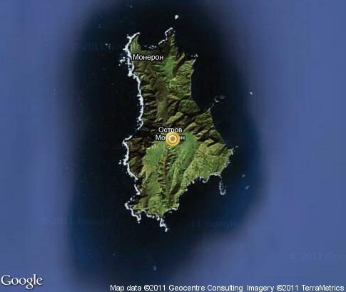 map: Moneron Island