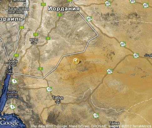 map: Nabataeans