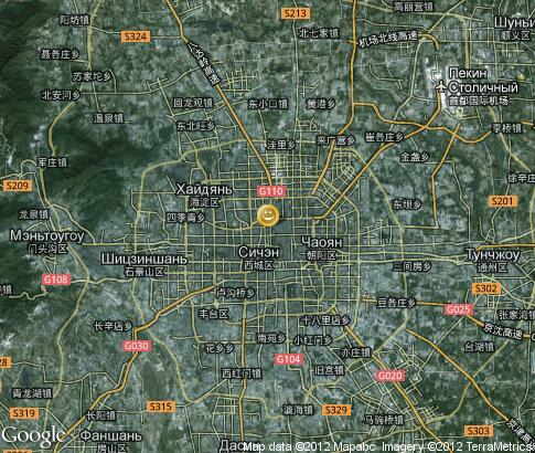 地图: Night Beijing