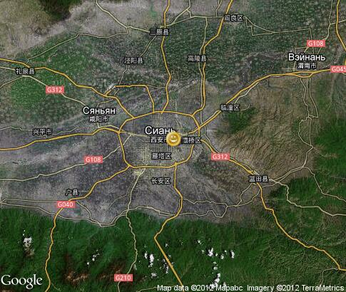 map: Night Xian