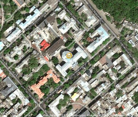 地图: Odessa State Medical University