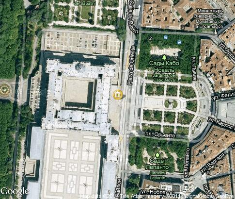 マップ: Palacio Real de Madrid