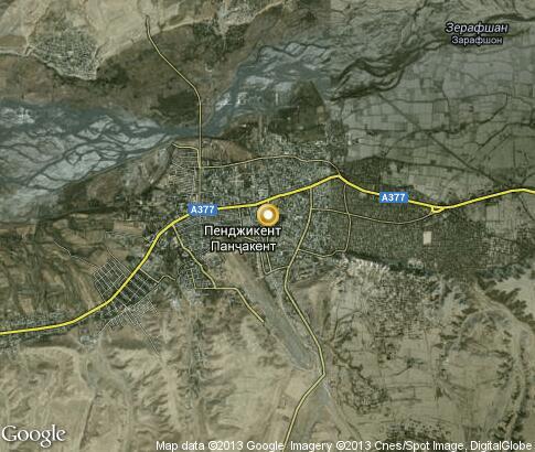 Спутниковые Карты Таджикистан Худжанд