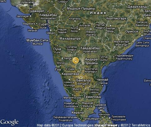 map: Photographers in India