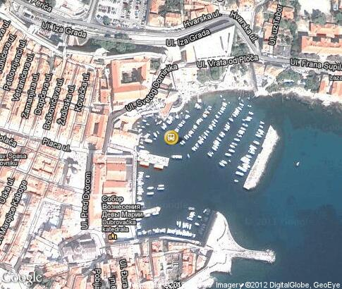 map: Port in the Old Town