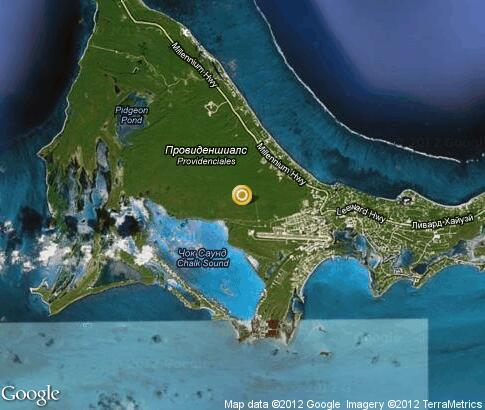 map: Providenciales Island