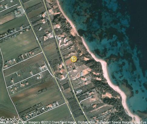 map: Restaurant Suni Beach