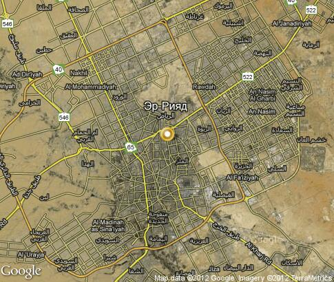 map: Riyadh