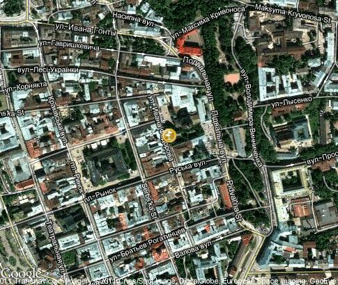 map: Russian quarter