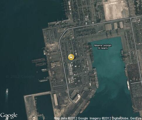 地图: Sea port of Jeddah