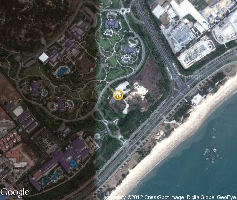 地图: Seaview Resort Xiamen