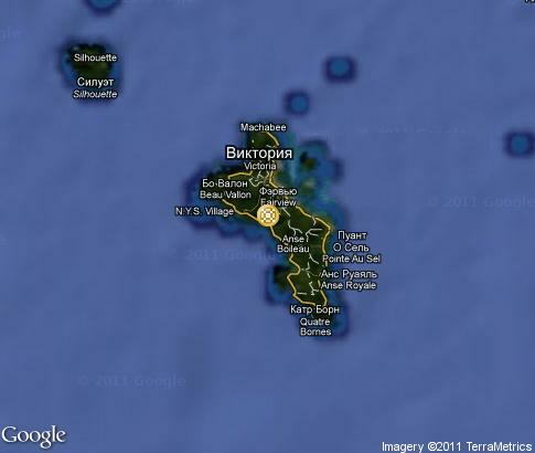 map: Seychelles People & Culture
