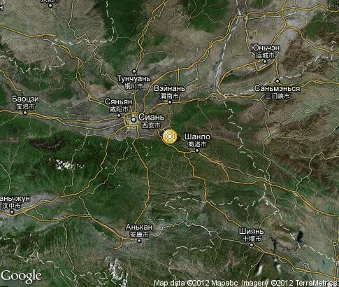 map: Shaanxi Paper-cuts