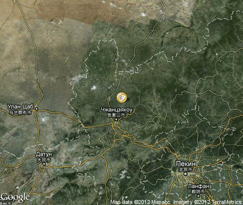 map: Shadow play in Chengde