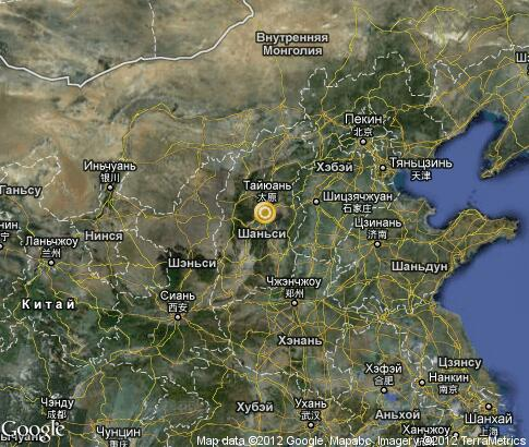map: Shanxi
