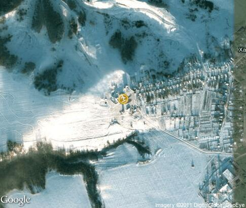 map: Ski resort Habarskoe