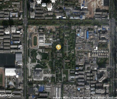 map: Small Wild Goose Pagoda