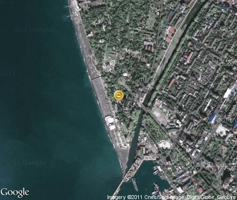 map: Sochi Beer festival
