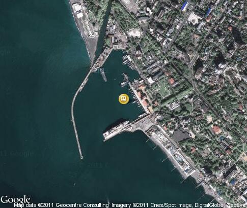 map: Sochi Seaport