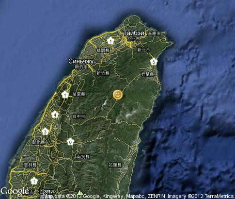 map: Spa and Massage in Taiwan
