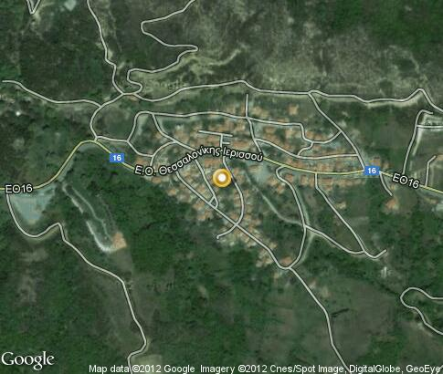 map: Stageira