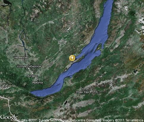 map: Summer Active Tourism in Baikal