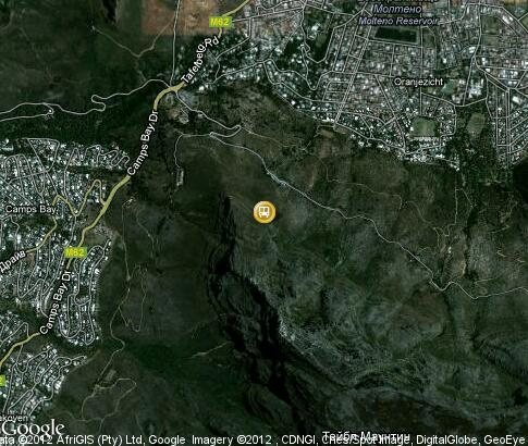 map: Table Mountain-Cableway