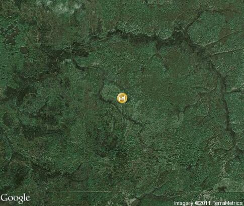 map: Tourist and Hunting camp Bears land