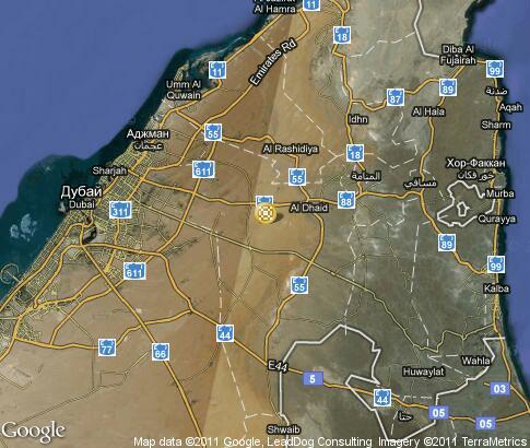 Карта традиционная культура шарджа
