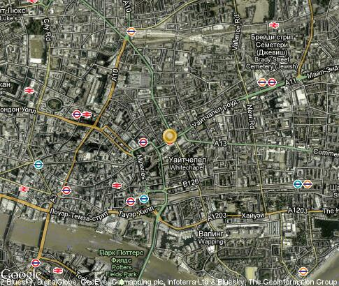 地图: Whitechapel