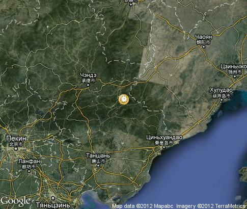 map: Winter in Chengde